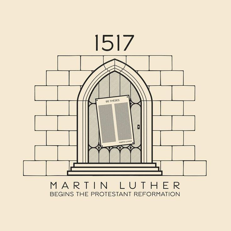 martin luther nailed his 95 thesis on the door Martin luther's 95 theses  did martin luther wield his hammer on the  martin luther began with his famous 95 thesis nailed to the wittenburg castle door.