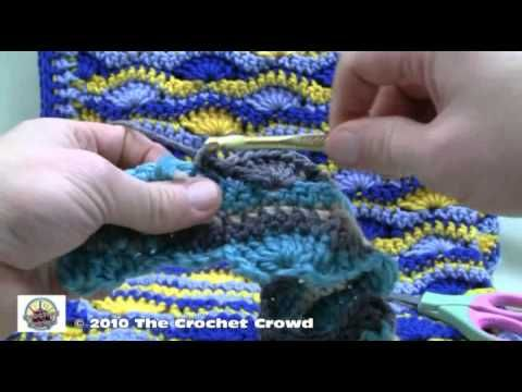 Crochet A Blanket - Starting and Finishing Part 3, via YouTube.