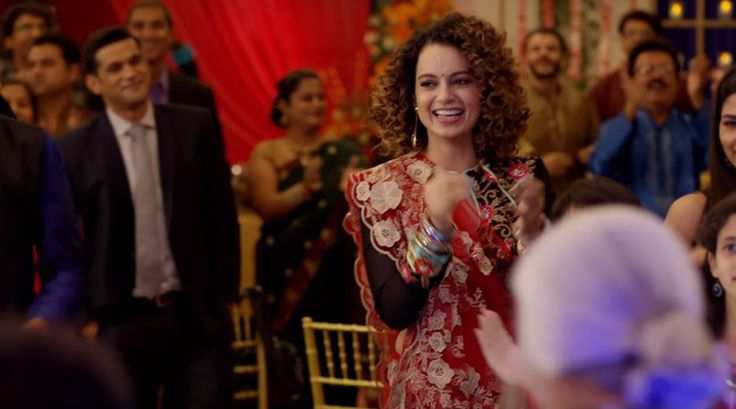 Simran song Lagdi Hai Thaai Kangana Ranaut is living life on the edge in this wedding song of the year. Watch video - The Indian Express #757Live