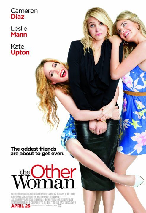 The Other Woman (2014).  After dating what seems like perfect guy, a woman discovers her new boyfriend is married.  She ceases contact, but the wife pushes contact until they become friends.  Together they discover the guy is cheating yet again, and they plot revenge.  One of the worst movies I've seen this year.   Leslie Mann, who is the main character of the movie, is positively grating. Nicki Minaj should have never been cast.  Only Cameron Diaz comes off unscathed in this mess of a…