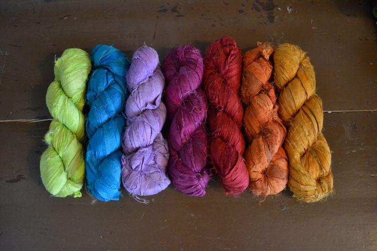 Blockwallah Sari Silk Ribbon / sarisilkkinauha