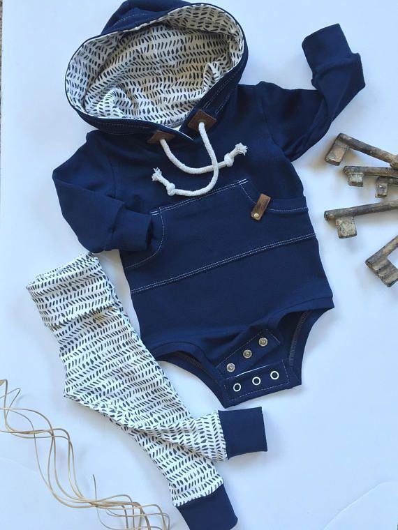 b841f8c58 Baby hoodie baby sweatshirt gender neutral hoodie bodysuit ...