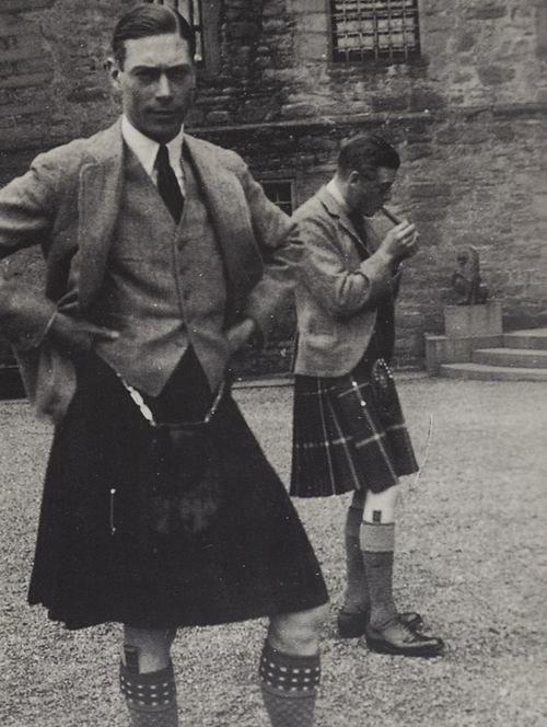 George VI and Edward VIII of the United Kingdom. 1930's.