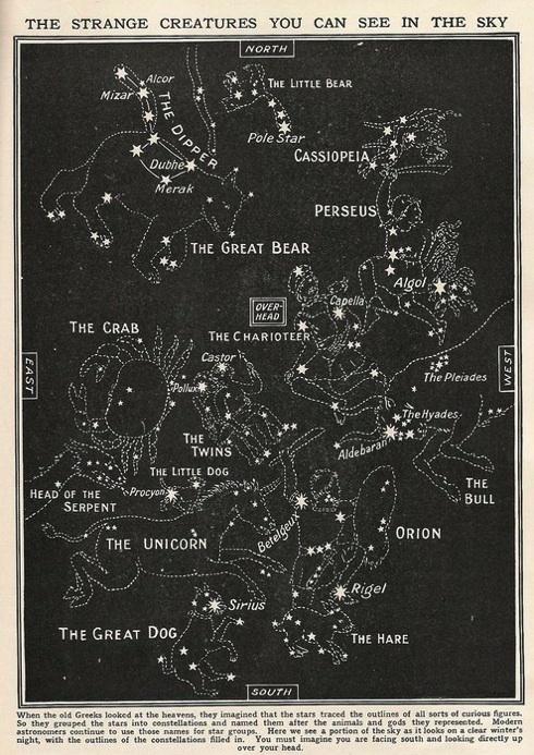 beautiful star chart from evencleveland.blogspot.com