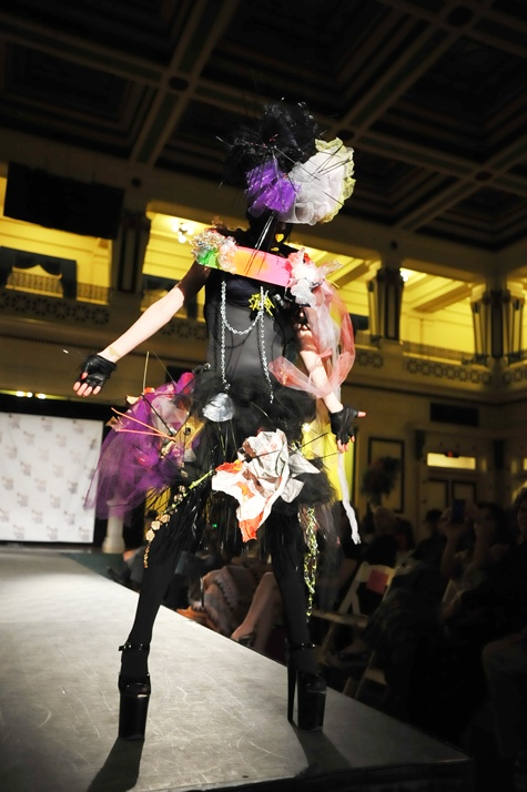 Models turn trash to fashion at Pittsburgh Fashion Week's first event | The Pitt News