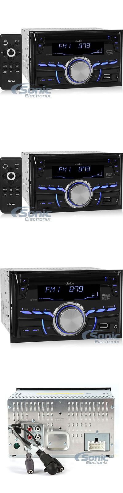 Vehicle Electronics And GPS: Clarion Cx305 Double Din Bluetooth Cd Car Stereo Receiver W Usb Aux Inputs -> BUY IT NOW ONLY: $119 on eBay!