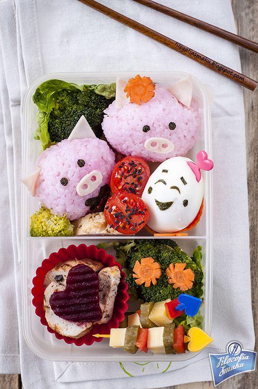 Cute Pig Bento Box