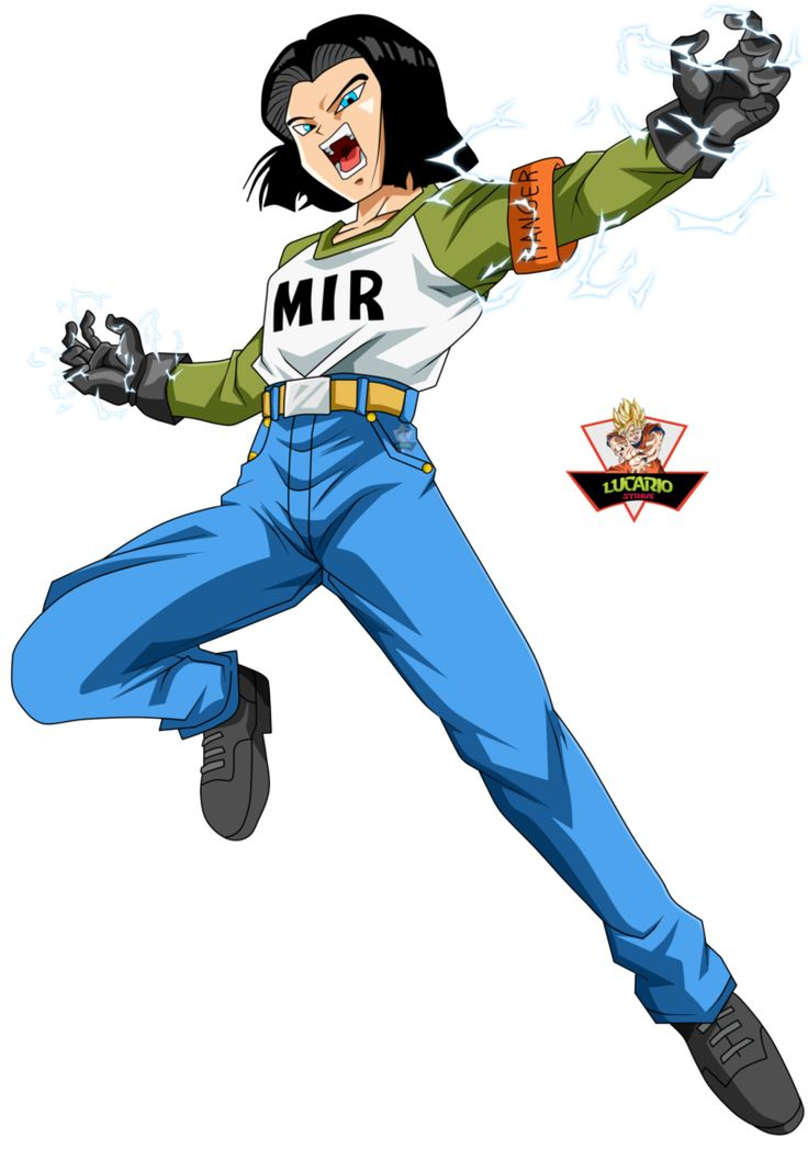 Numero 17 Dragon Ball Super by lucario-strike on DeviantArt