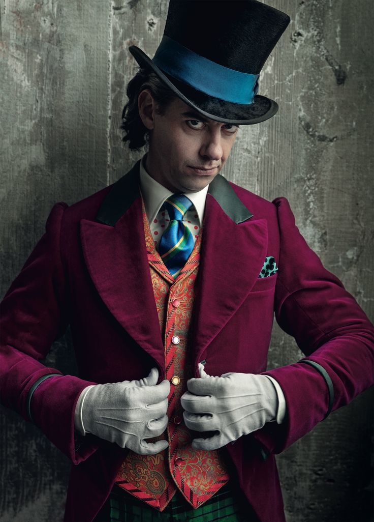 """Lookin' sharp, Mr. Wonka! ~ Christian Borle as Willy Wonka for Broadway's """"Charlie and the Chocolate Factory"""""""