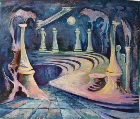 Последняя ночь Иоанна Крестителя, автор Ани Петросян. Артклуб Gallerix