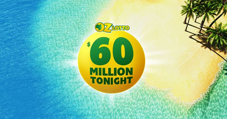 The biggest jackpot of the year is finally here! Don't miss your shot at $60 MILLION tonight - get your ticket online now!