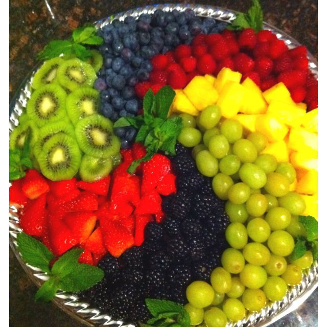 25+ Best Ideas About Fruit Tray Displays On Pinterest
