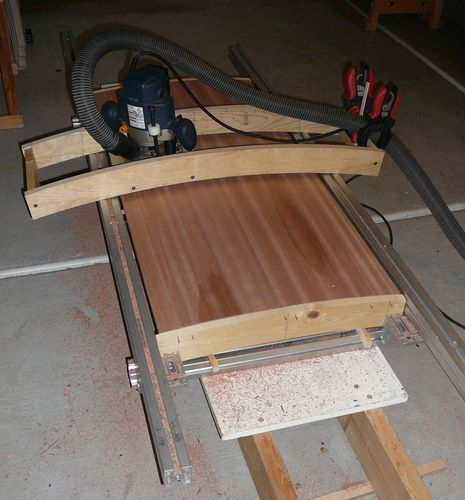 Convex / concave surface router jig - by Viktor @ LumberJocks.com ~ woodworking community: