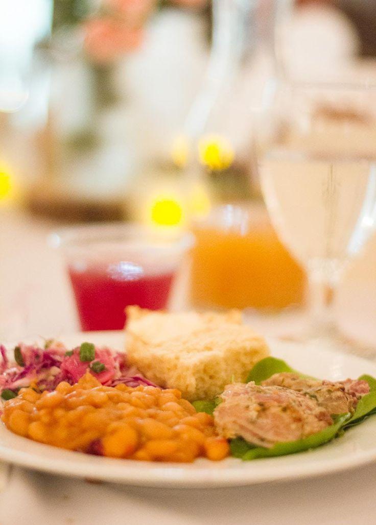 A Homey Budget Wedding Meal for 120: The Wedding Dinner — Homemade Weddings