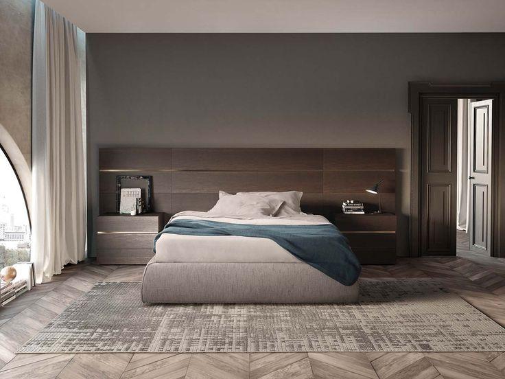 BOISERIE pannelli modulari | IMPUNTO letto tatami | PEOPLE comodini | BOISERIE modular headboards | IMPUNTO tatami bed | PEOPLE casegoods | PIANCA | www.pianca.com