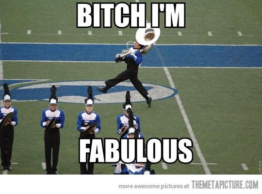 Marching band!-- we all have that one Sousa player...
