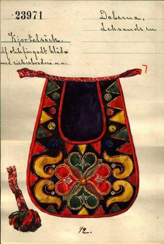 Kjolsäcken, Loose Pockets of Leksand, Dalarna, Sweden