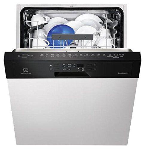 Electrolux ESI5540LOK Semi intégré 13places A++ Blanc lave-vaisselle – lave-vaisselles (Semi intégré, A, A++, Compact, Blanc, LED):…