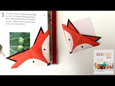 Fox Corner Bookmarks - Red Ted Art's Blog