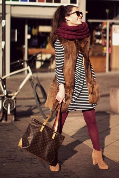 Love me maroon tights for fall