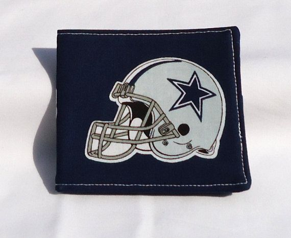 NFL Dallas Cowboys Billfold  FREE Shipping by VABeachQuilter, $7.95