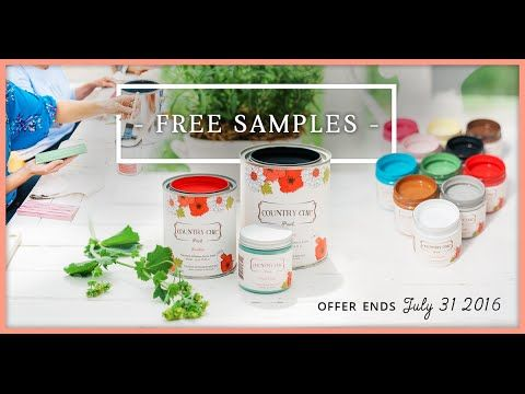 Try Country Chic Paint for FREE! Get a free sample now! | Country Chic Paint #free #sample #giveaway #coupon #voucher #countrychicpaint #furniturepaint #homedecor #paintedfurniture - www.countrychicpaint.com/free-samples