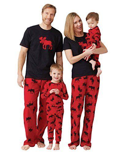 5bc15f498a Pijama Negro rojo Hatley Familia