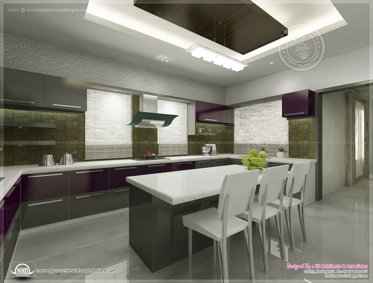 Kitchen Designer Salary Simple Kitchen Interior Views Ss Architects Cochin Home Kerala Plans Review