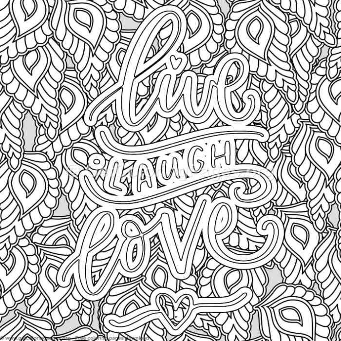 Live Laugh Love Coloring Pages Love Coloring Pages Coloring Pages Valentine Coloring Pages
