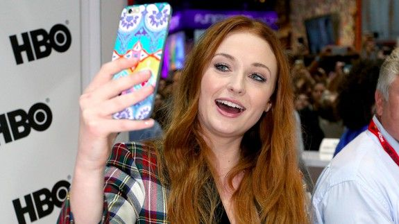 'Game of Thrones' star Sophie Turner said her social media followers help her land gigs
