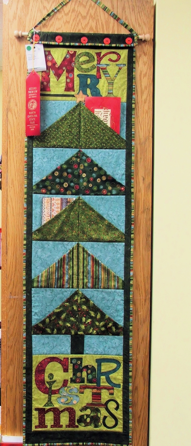 Quilted Card Holder Quilts Table Runners Table