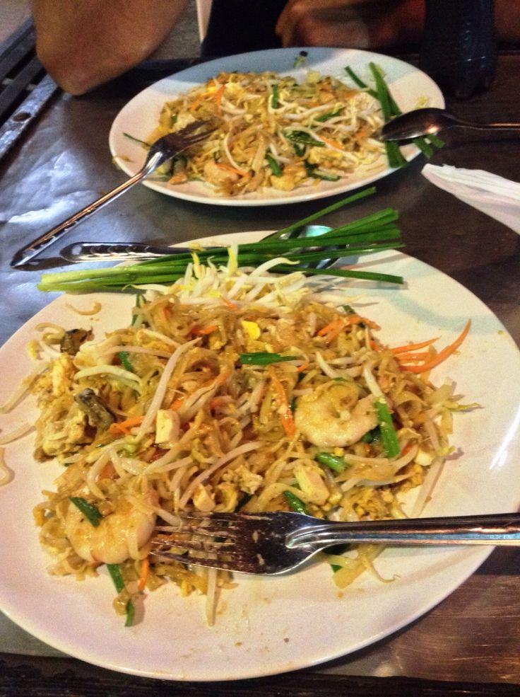 Pad thai - street food - Koh Samui