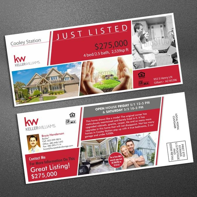 Real Estate Postcard Design by vikjain
