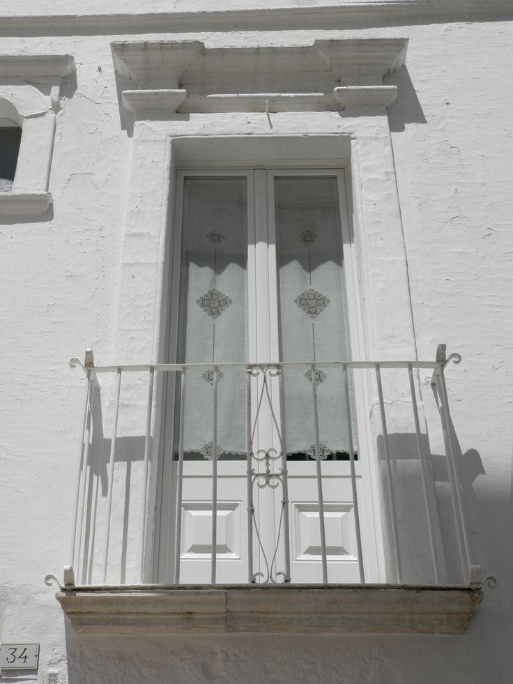 Balcone a Locorotondo - Puglia - Italy