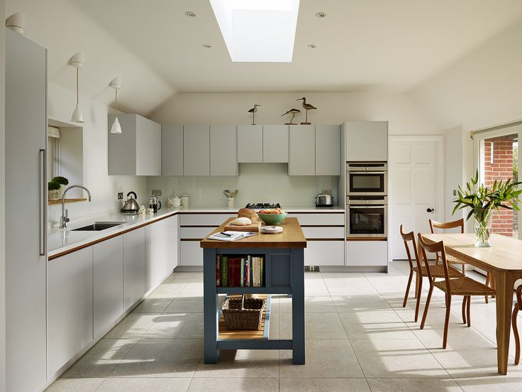 24 best roundhouse blue kitchens images on pinterest for Bespoke kitchen ideas