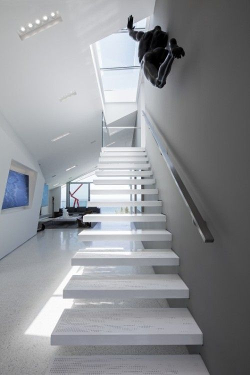 67 best Escaliers Staircases Treppen images on Pinterest - holz treppe design atmos studio