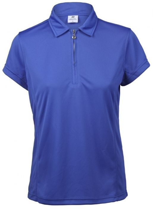 Love Golf Shirts? Here's our  Royal Daily Sports Ladies Macy Short Sleeve Golf Polo Shirt! Find plenty of Golf Outfits here at  #LadiesGolf