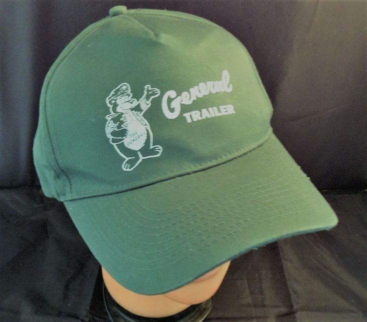 """""""General Trailer"""" Baseball Cap/Trucker Hat/The General Bear/Velcro strap/Vintage #Otto #BaseballCap"""