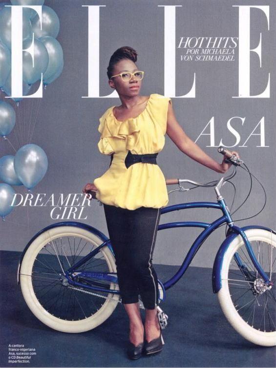 Asa for Elle Brazil