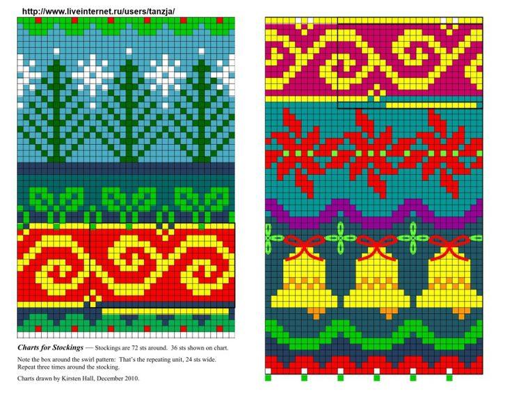 197 best Grilles motifs Fair Isle images on Pinterest | Knitting ...