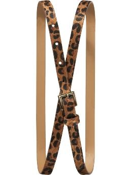 Great leopard skinny belt - over cardigans or tunics with jeans and boots $14.94 from Old Navy #plussize