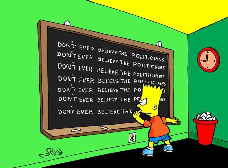 Cartoon Movement - Politicians Credibility