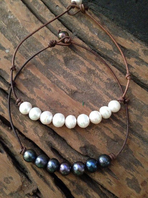 Pavo real negro perlas o perlas de agua dulce por ChristianOPearls