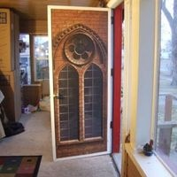Door Wraps From Rm Wraps. Put Any Image On Your Boring Door. Printed On