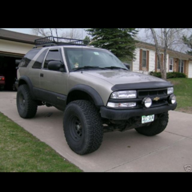 E E F F Bd D B Dafd C S Zr S Blazer on 2001 Chevy S10 Regular Cab