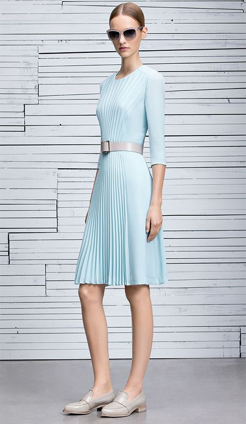 Classical and elegant fashion for women from HUGO BOSS #HUGOBOSS