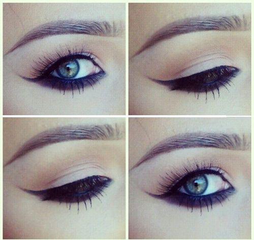 how to make big eyelids smaller