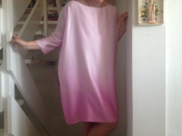 Håndarbeiden » Sy superenkel kjole eller genser - - søm - sying - handmade - craft - sweater - dress - fashion