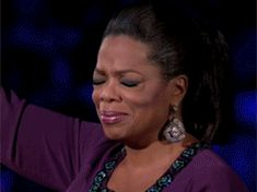 New trendy GIF/ Giphy. crying tears oprah emotional. Let like/ repin/ follow @cutephonecases