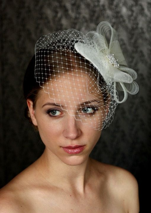 "I pretty much do. | 17 Birdcage Veils That'll Make You Wanna Say ""I Do"""